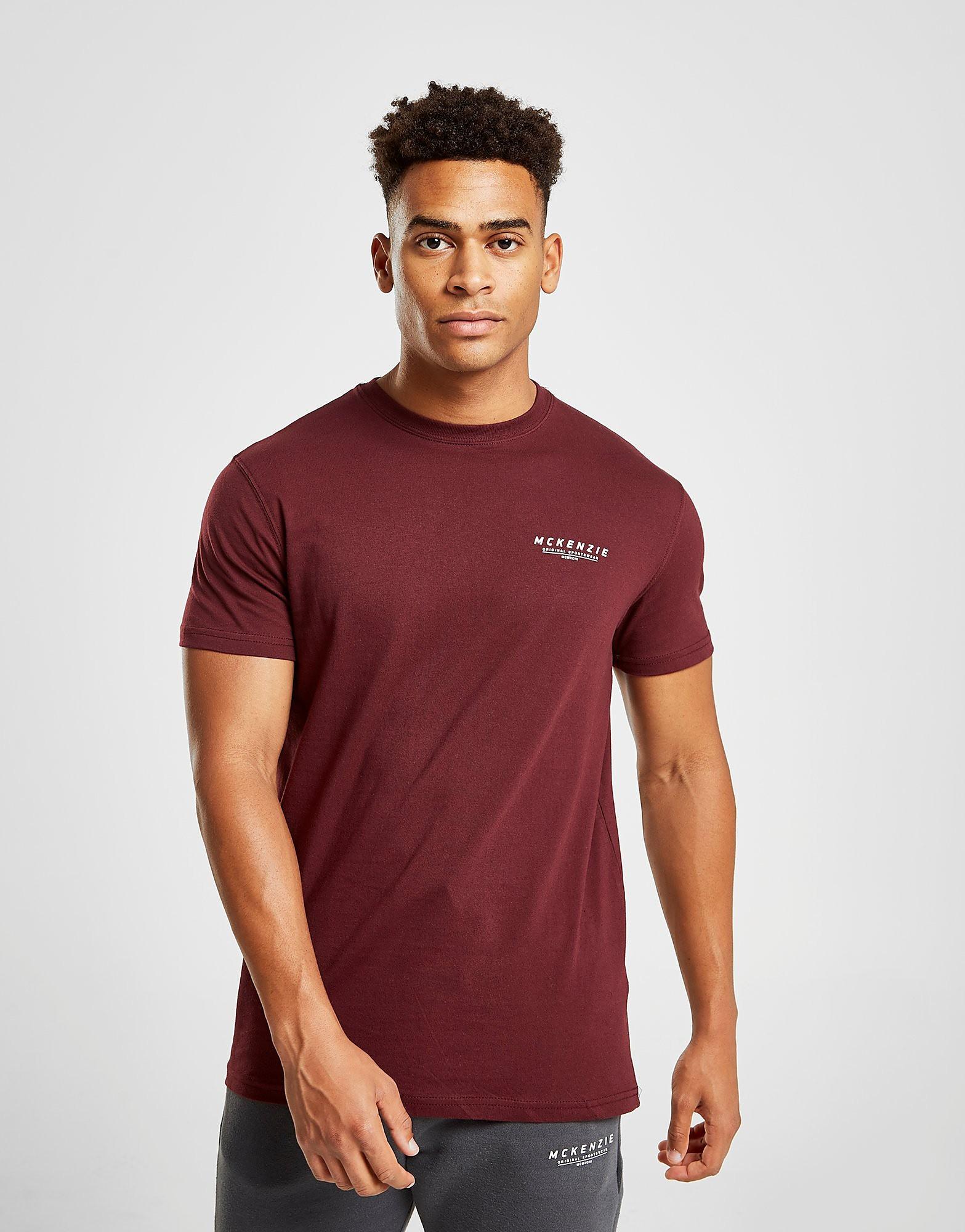 McKenzie Essential T-Shirt - alleen bij JD - Rood - Heren