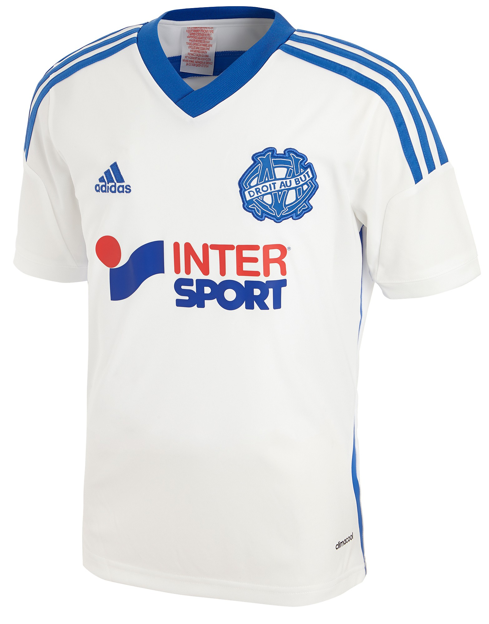 adidas Olympique de Marseille 2014 Junior Home Shirt
