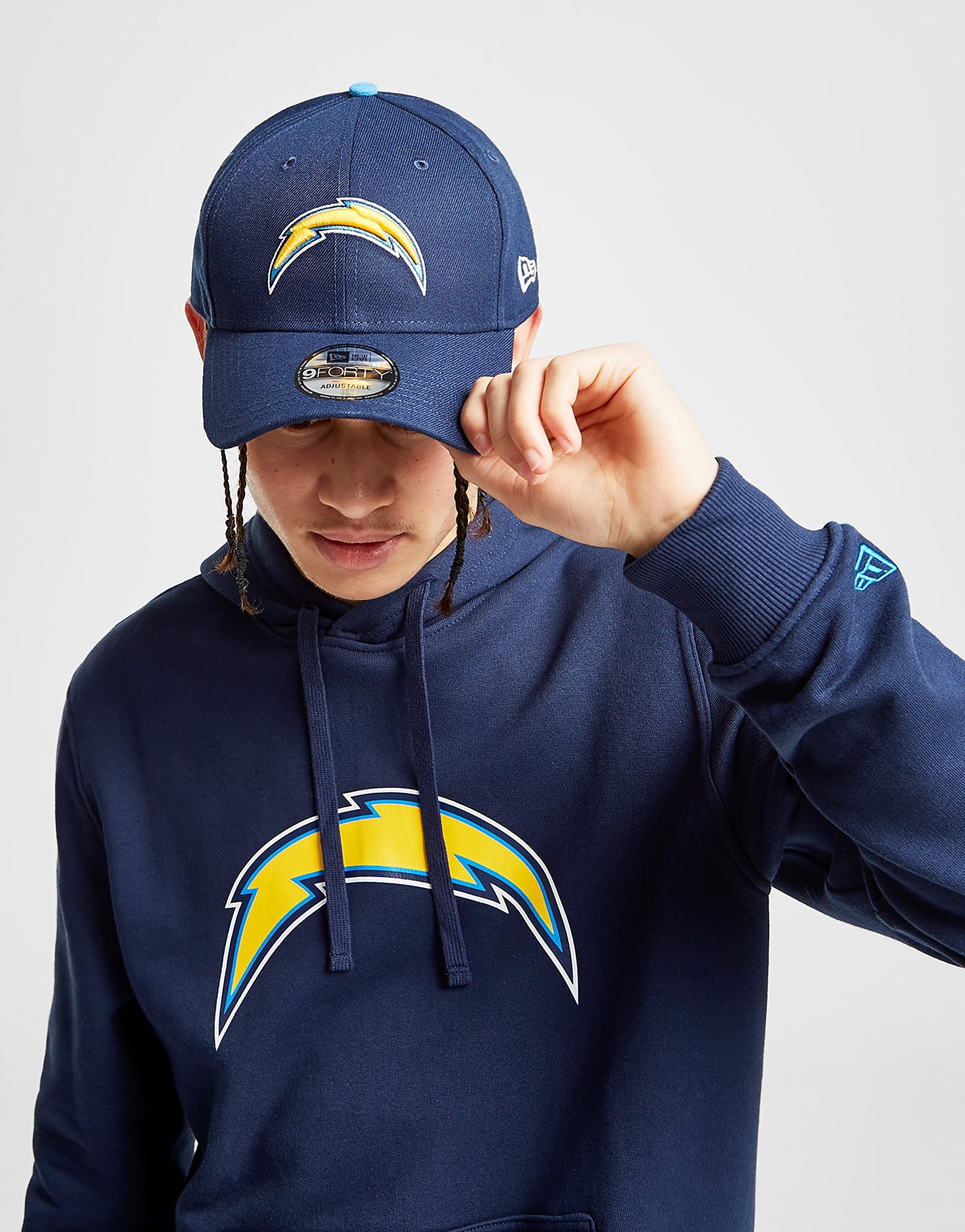 New Era NFL Los Angeles Chargers 9FORTY Cap - Blauw - Heren