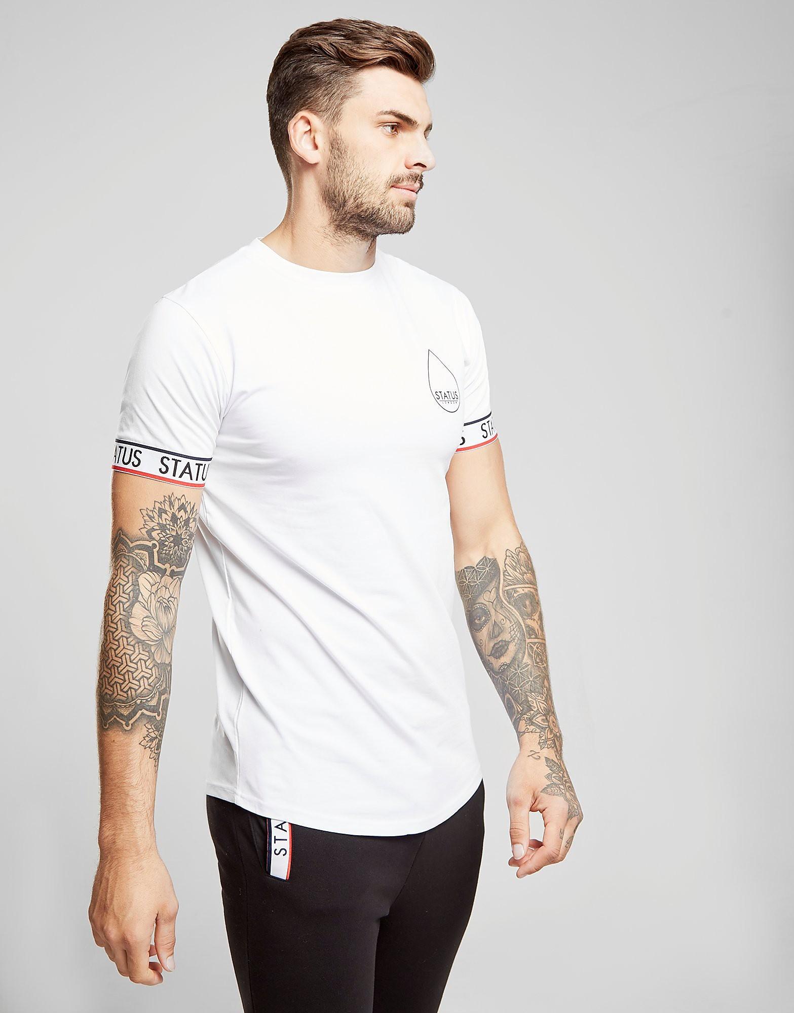 STATUS Foster T-Shirt Heren - Wit - Heren