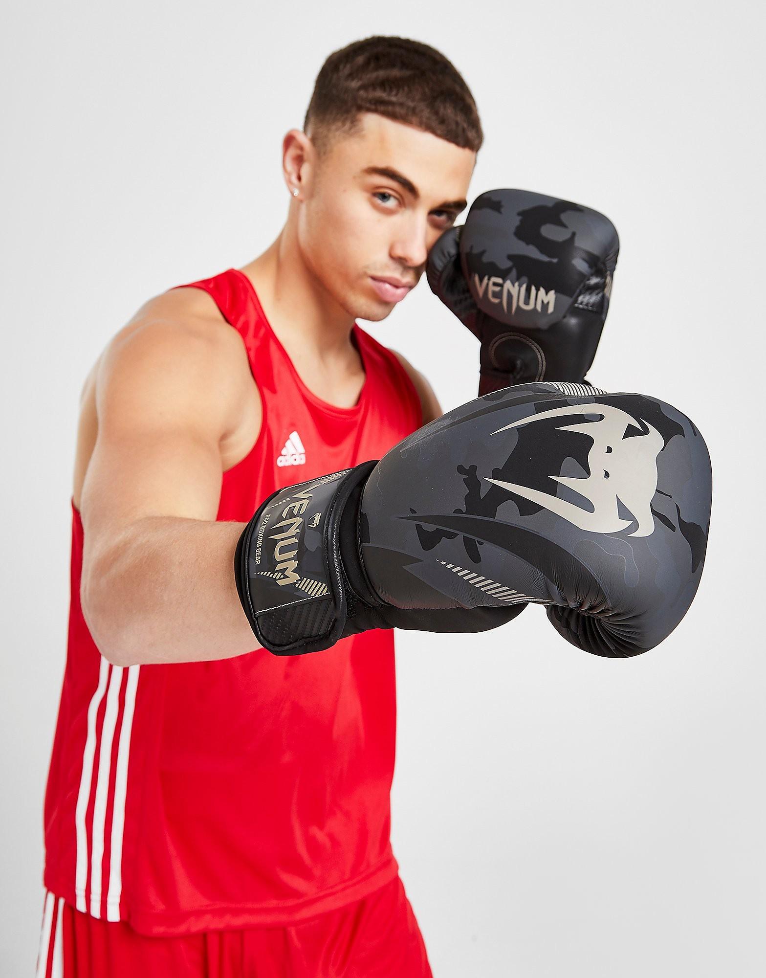 Venum Impact Boxing Gloves - Zwart - Heren