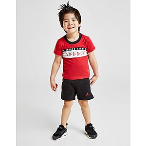 bf97fa1644 Jordan Air Tape T-Shirt Shorts Set Infant ...