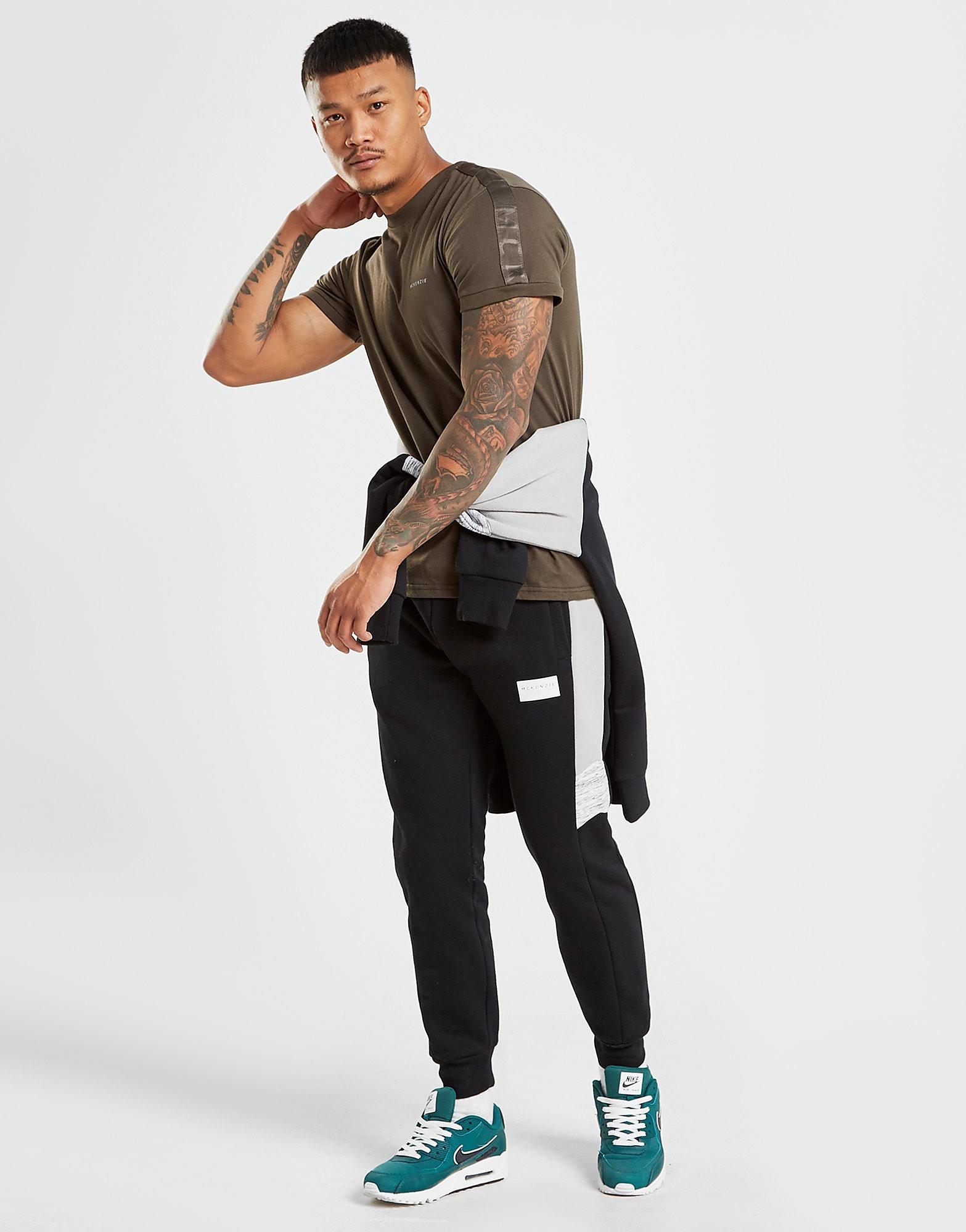 McKenzie Boddington Taped T-Shirt Heren - alleen bij JD - Khaki - Heren