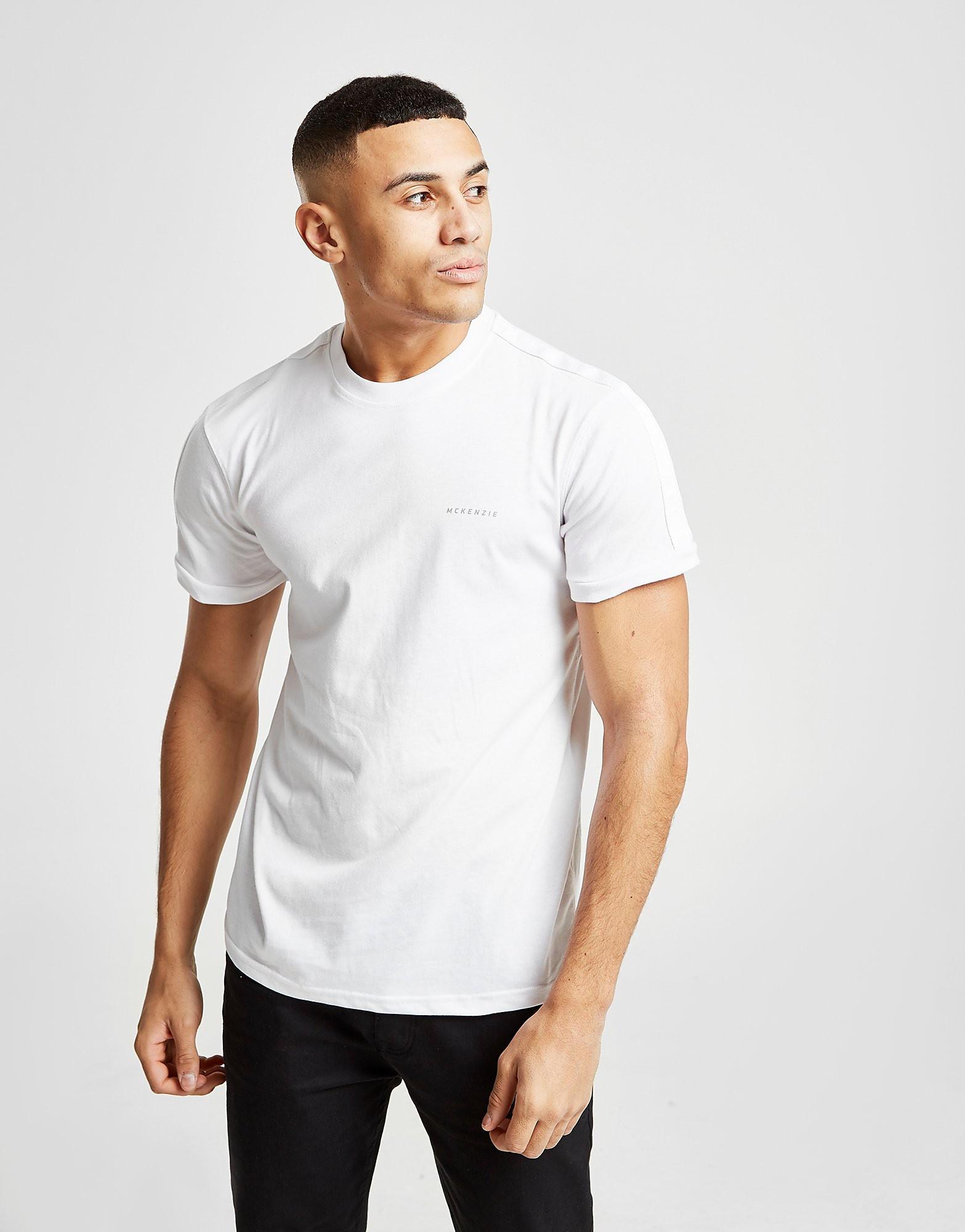 McKenzie Boddington Taped T-Shirt Heren - alleen bij JD - Wit - Heren