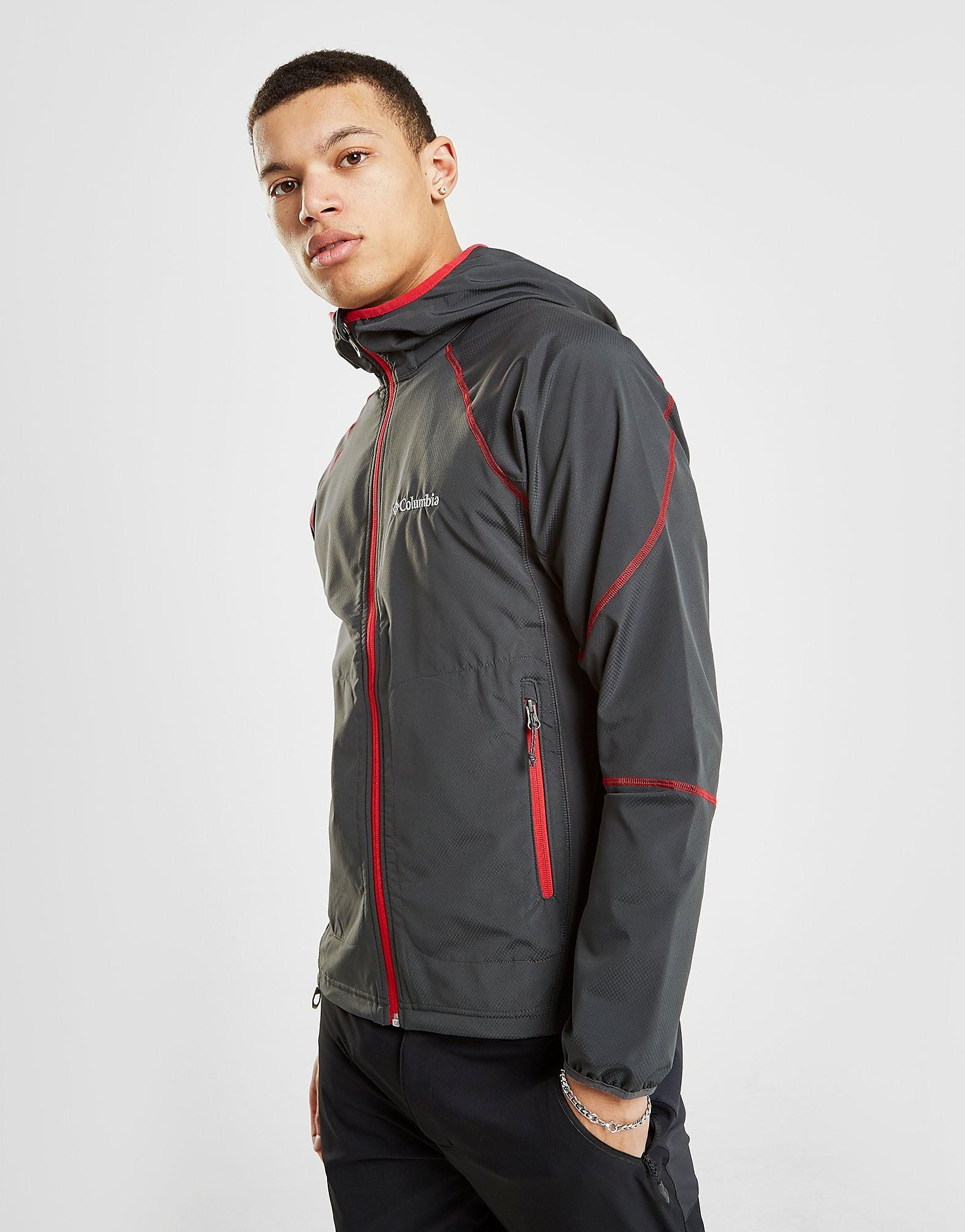 Columbia Softshell Hooded Jacket Heren - Grijs - Heren