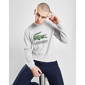 04ad3a67beb Lacoste Large Logo Vintage Crew Sweatshirt ...