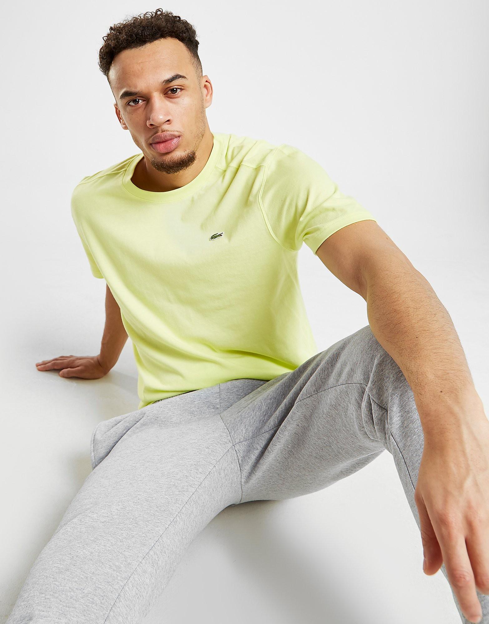 Lacoste Croc Logo Short Sleeve T-Shirt Heren - Groen - Heren