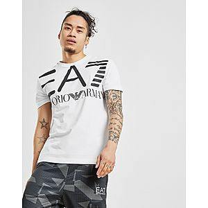 37fcdc12f14b Emporio Armani EA7 All Over Logo T-Shirt ...