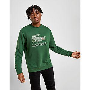 612414488dd Lacoste Large Logo Vintage Crew Sweatshirt Lacoste Large Logo Vintage Crew  Sweatshirt