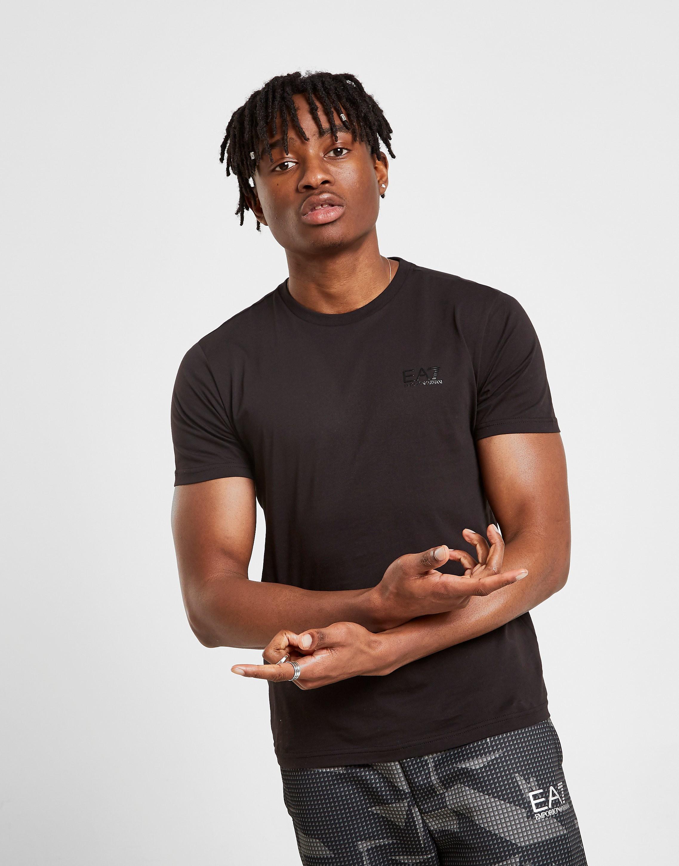Emporio Armani EA7 Core Short Sleeve T-Shirt Heren - Zwart - Heren