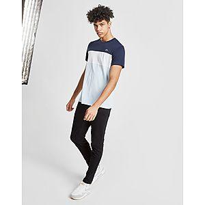 04baad9e95b77 Lacoste Tri Colour Block T-Shirt ...