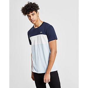 ... Lacoste Tri Colour Block T-Shirt 35748667326