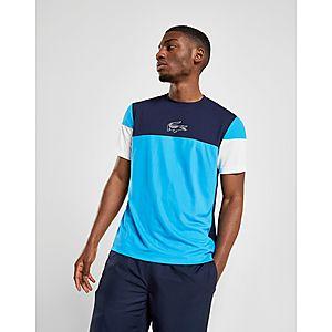 24c4829f1eb ... Lacoste Colour Block Short Sleeve T-Shirt