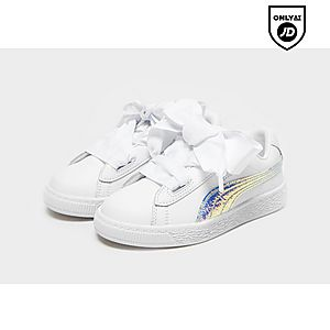 c69fa8f36d99 PUMA Basket Heart Children PUMA Basket Heart Children