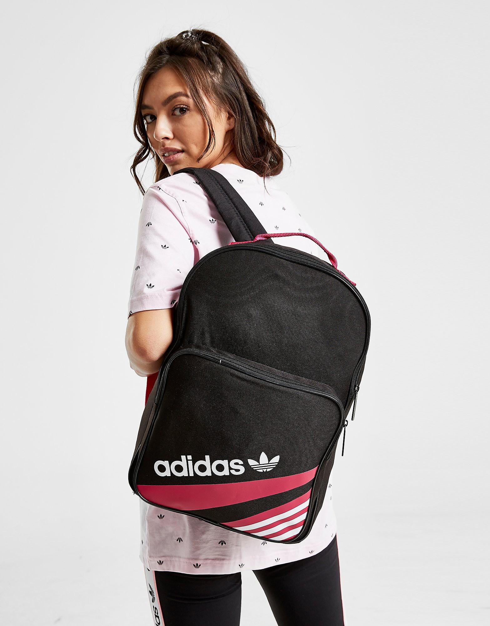 Adidas rugzak zwart, roze en wit