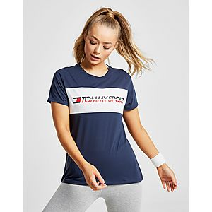 0f63b419 ... Tommy Hilfiger Colour Block Logo T-Shirt