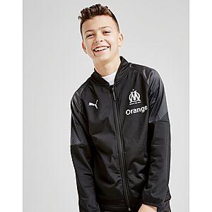 1e3e77962e9043 PUMA Olympique Marseille Stadium Jacket Junior ...