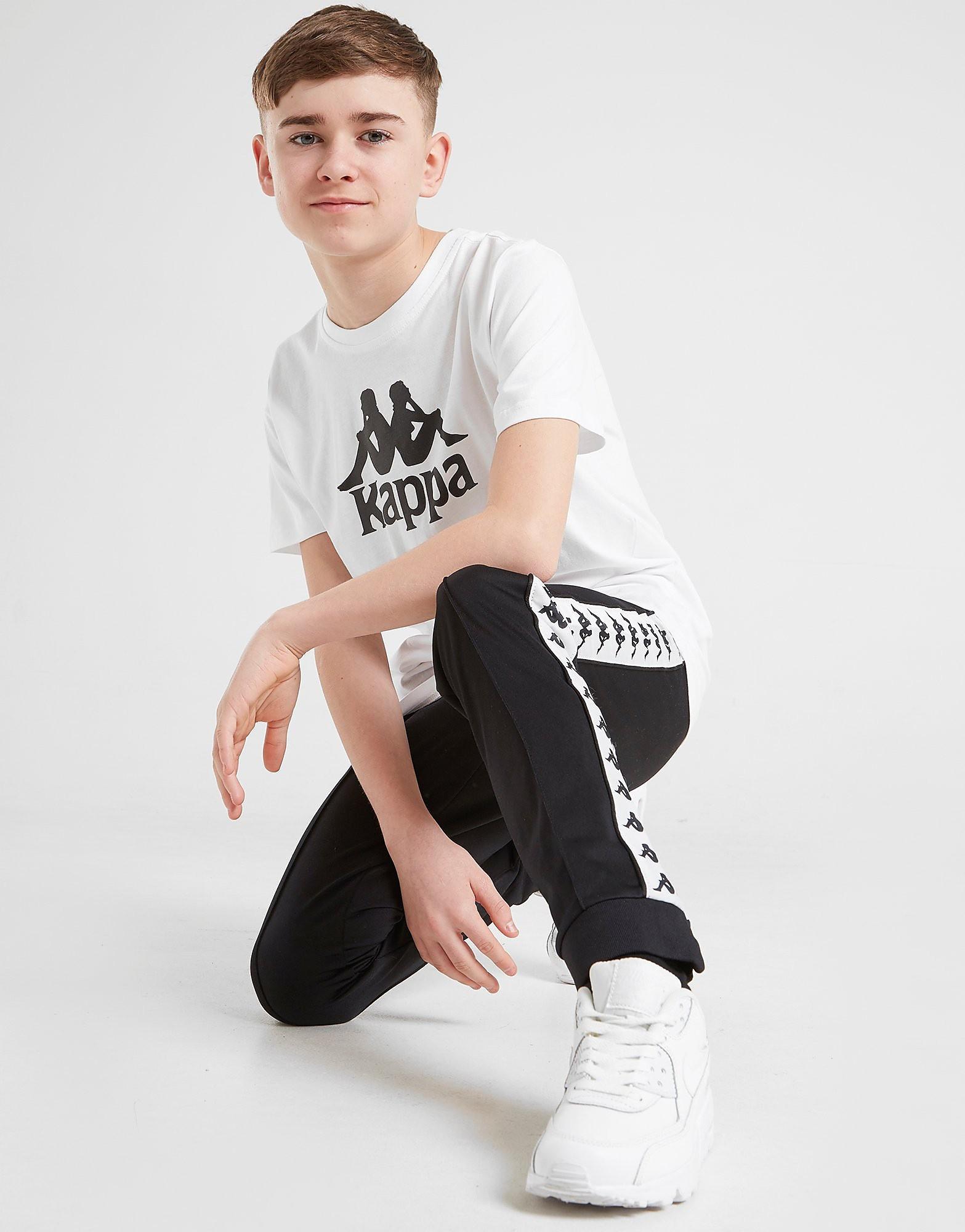 Kappa Estessi Logo T-Shirt Junior - Wit - Kind