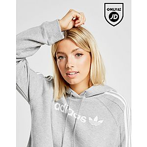 9de0b037a04 ... adidas Originals 3-Stripes Linear Overhead Hoodie