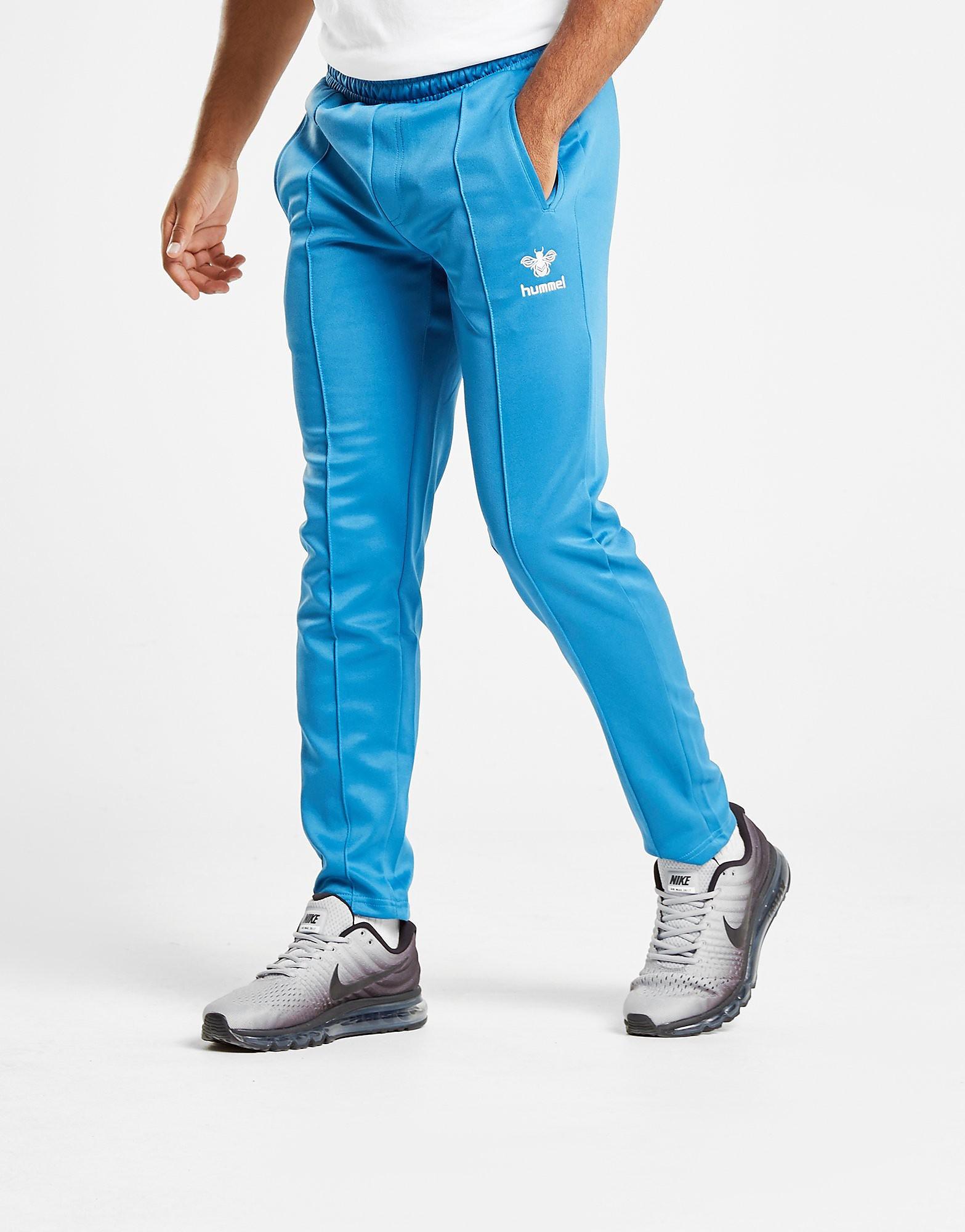 Hummel Off Field Slim Track Pants - Blauw - Heren