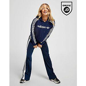 ... adidas Originals 3-Stripes Linear Overhead Hoodie efeebc7dec6