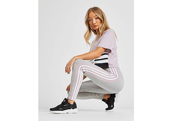 943301963ca adidas Originals 3-Stripes Panel Leggings - Grey - Womens - £20.00 -  Bullring & Grand Central