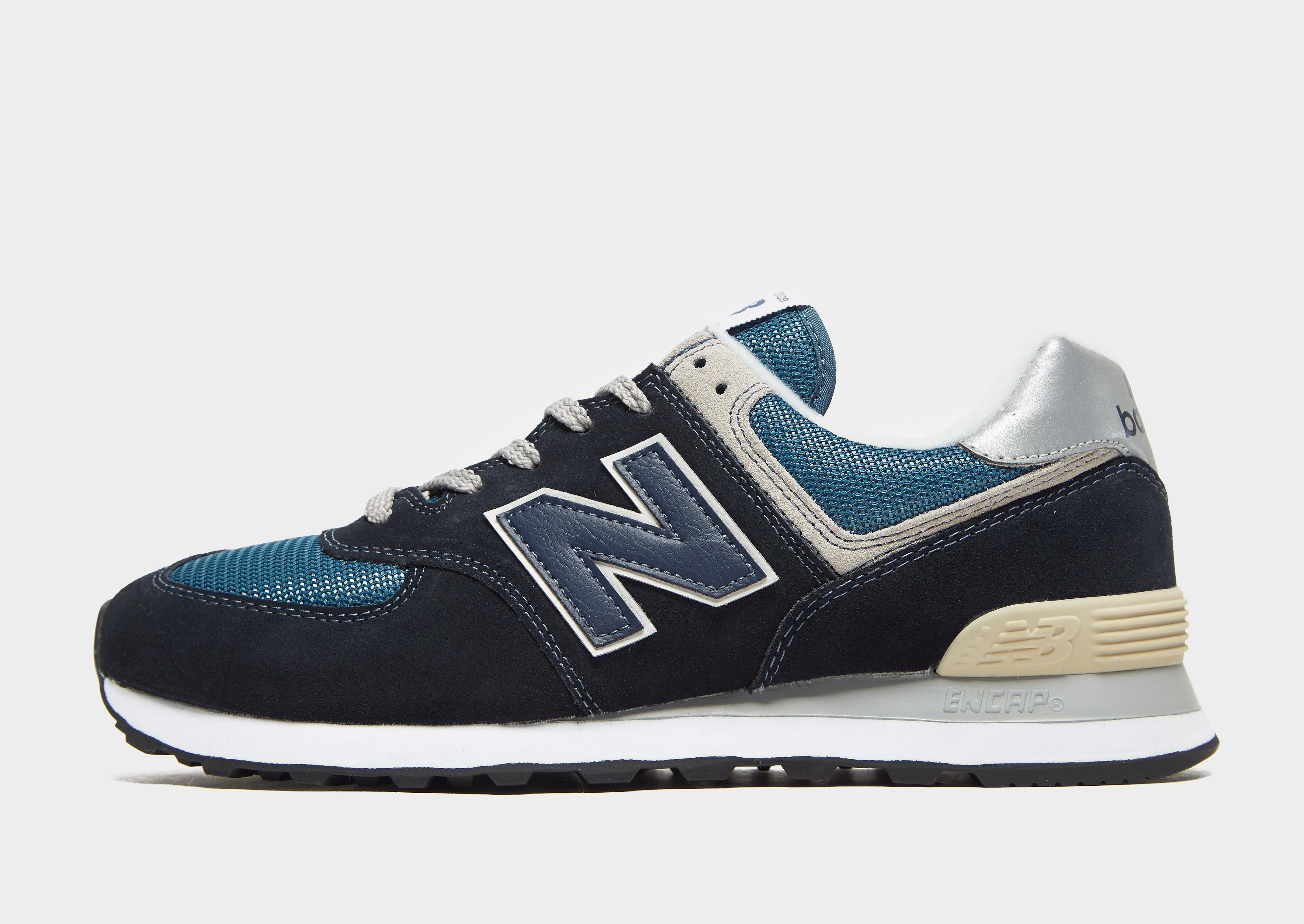 New Balance 574 - Blauw - Heren