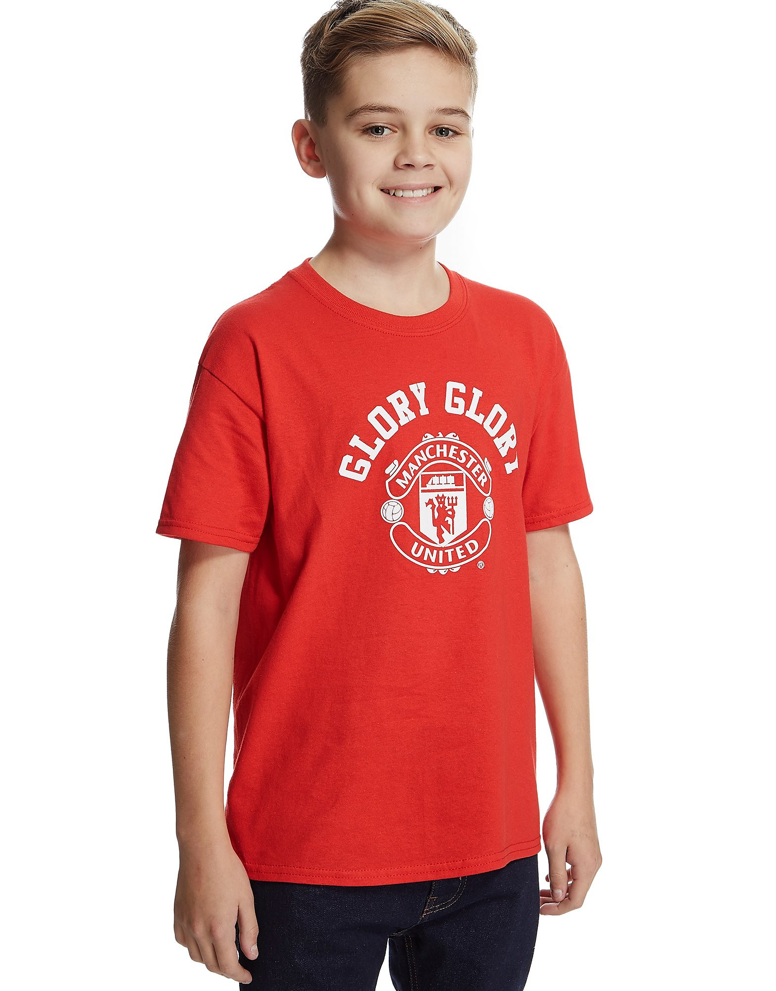 Official Team Manchester United Glory T-Shirt Junior