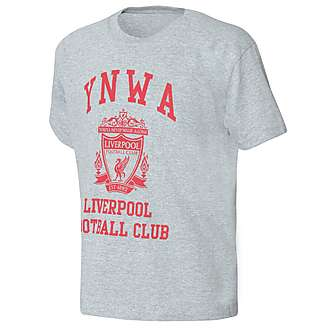 Official Team Liverpool YWNA T-Shirt Junior