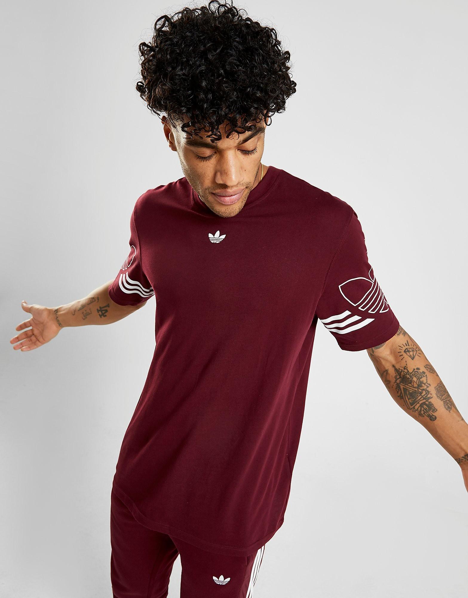 adidas Originals Radkin T-Shirt Heren - Rood - Heren