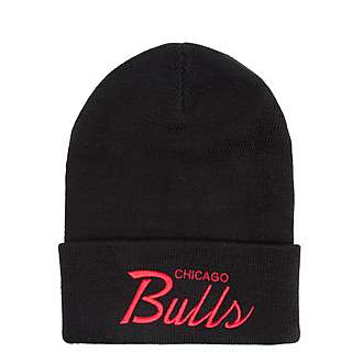Mitchell & Ness NBA Chicago Bulls Knitted Cuff Hat