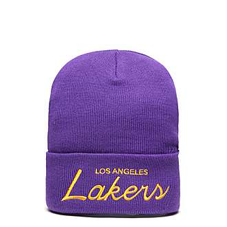 Mitchell & Ness NBA Los Angeles Lakers Knitted Cuff Hat