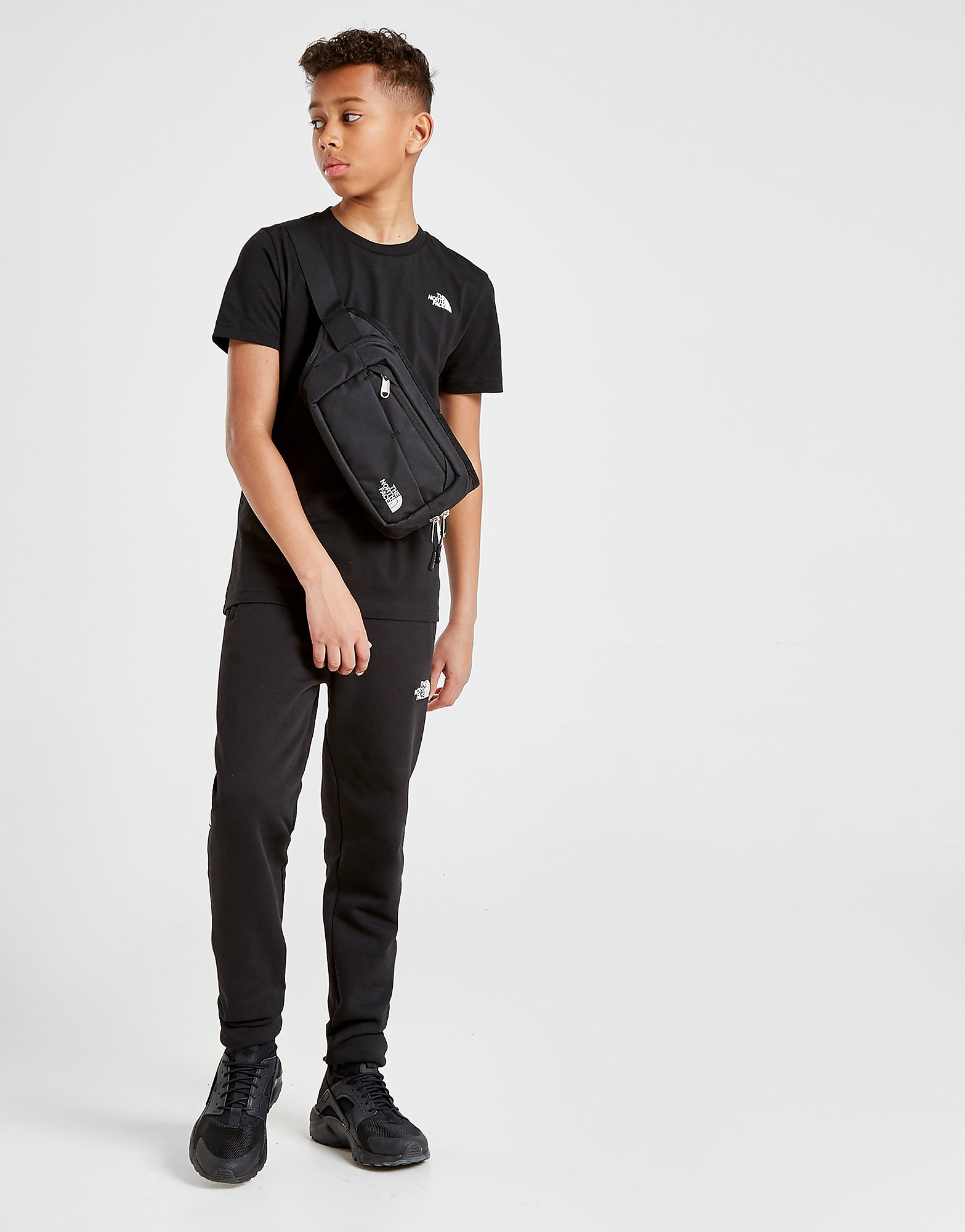 The North Face Simple Dome T-Shirt Junior - Zwart - Kind