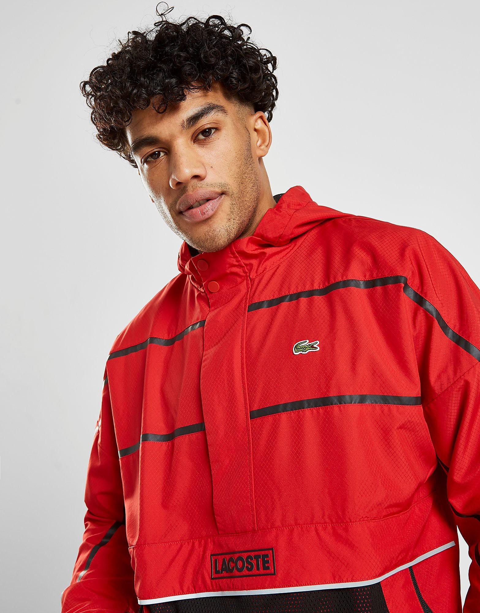 Lacoste 1/2 Zip Pullover Jacket Heren - Rood - Heren