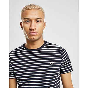 27a1d00a80 Fred Perry Fine Stripe Short Sleeve T-Shirt ...