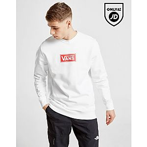 Vans Red Box Crew Sweatshirt ... 0e3f93951