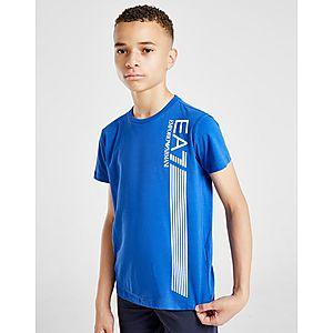 15e66908d ... Emporio Armani EA7 7 Lines Short Sleeve T-Shirt Junior