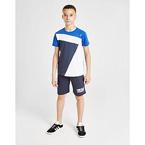 5188c9951 ... Emporio Armani EA7 7 Colour Block T-Shirt Junior