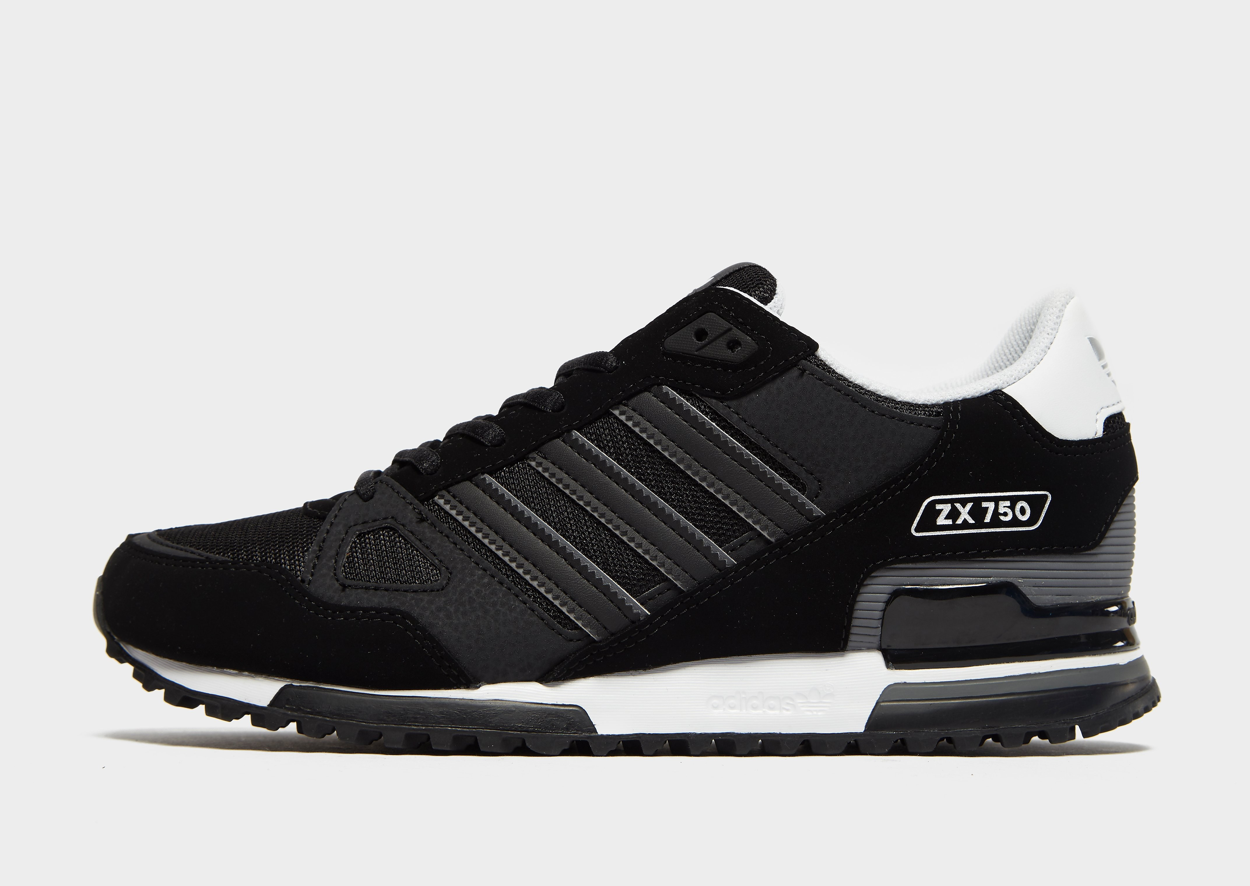 Adidas ZX 750 herensneaker zwart en grijs