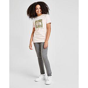 cccd6d4f840 ... The North Face Girls  Box Logo T-Shirt Junior