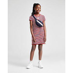 e715ebb47 Tommy Hilfiger Girls  Stripe Logo T-Shirt Dress Junior ...