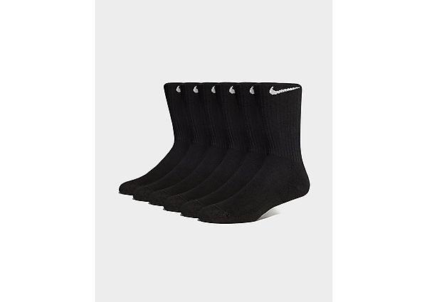 Nike calcetines 6 Pack Cushion Crew, White