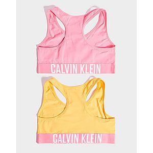 033083874 ... Calvin Klein Girls  2 Pack Crop Top Junior