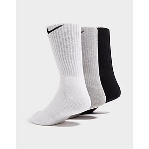 premium selection b7a71 d9452 Nike 3 Pack Cushioned Crew Socks Nike 3 Pack Cushioned Crew Socks