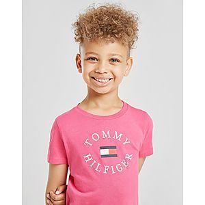 96f4bbcba Tommy Hilfiger Print Logo T-Shirt Children ...