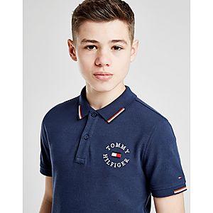 3c5c23236fe4 Tommy Hilfiger Badge Poly Polo Shirt Junior ...