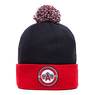 New Era MLB L.A Angels Circle Knit Hat