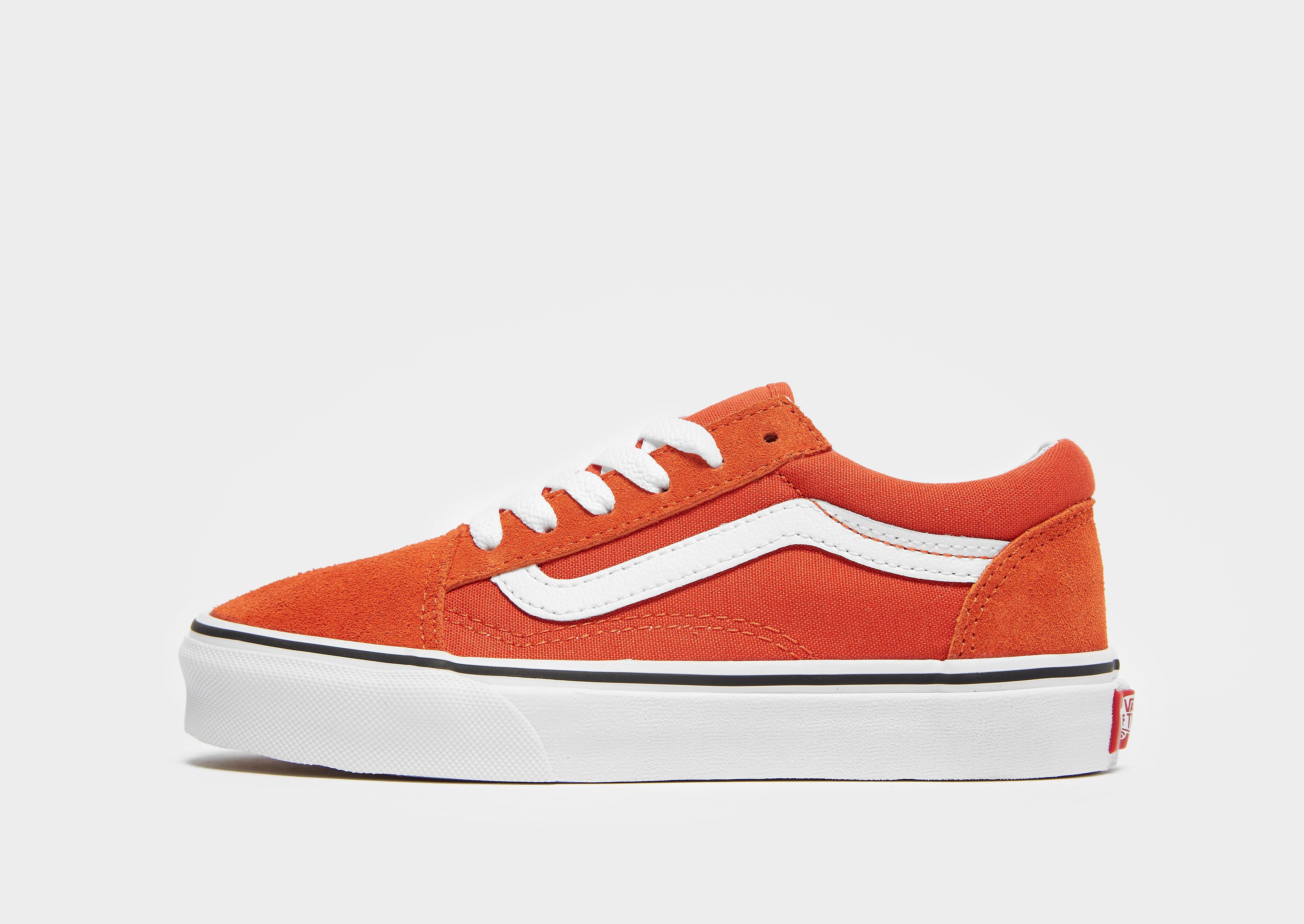 Vans Old Skool kindersneaker oranje