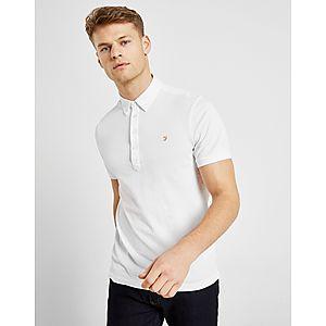 d1227f6d1f Farah Merriweather Short Sleeve Polo Shirt ...