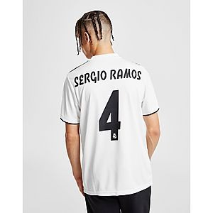 adidas Real Madrid 2018 19 Sergio Ramos  4 Home Shirt ... e2782e9164209